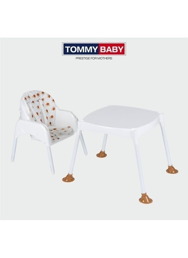 Tommy Baby 2020 Ergocha Mama Sandalyesi,Pedli Çocuk Çalışma Masası Kahve